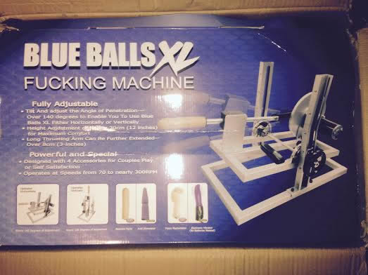 2nd Hand Blue Balls Fucking Machine